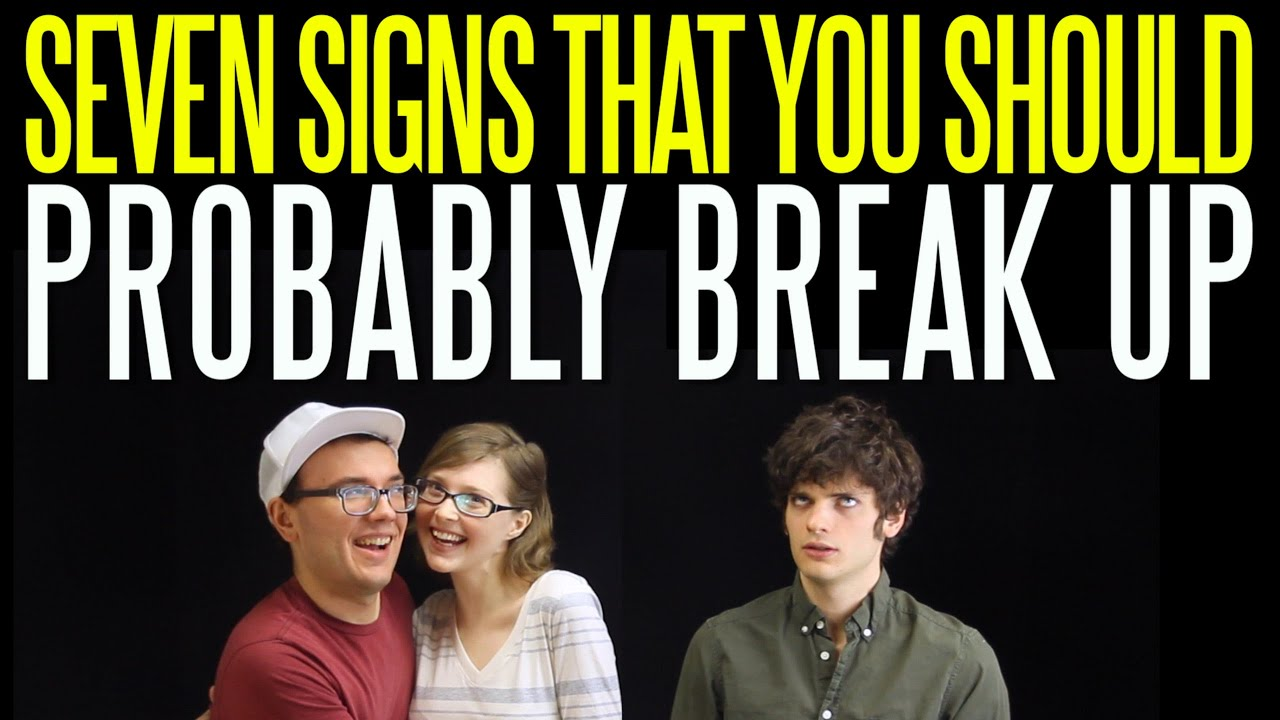 Signs you should break up with your boyfriend