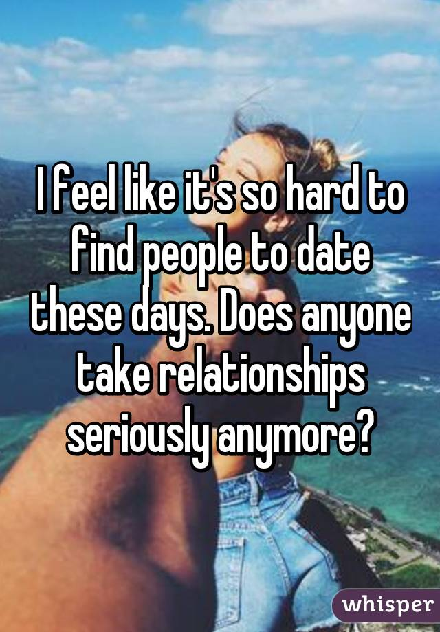 Find people to date