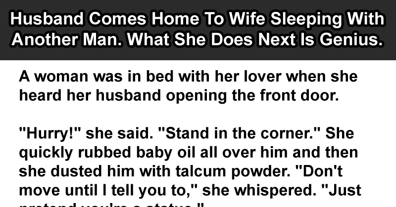 Signs a man slept with another woman