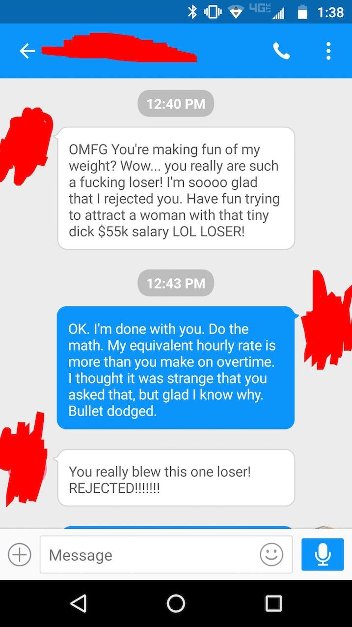 How to respond to rejection from a guy
