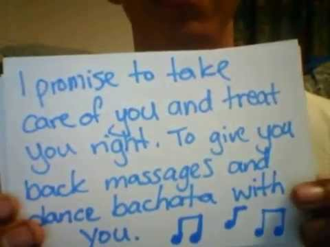 A romantic way to ask a girl out