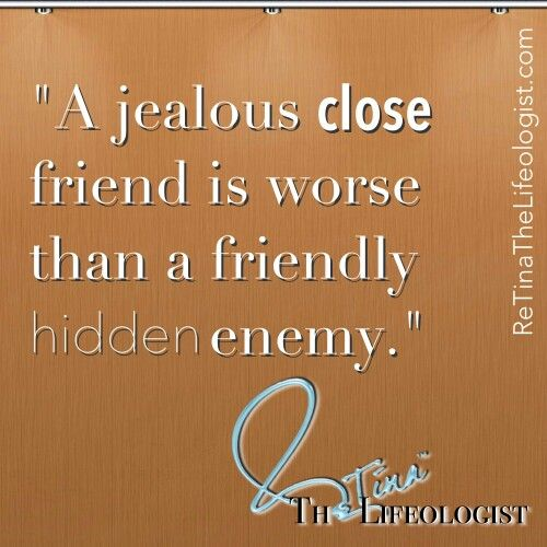 How to stop being jealous of your friend