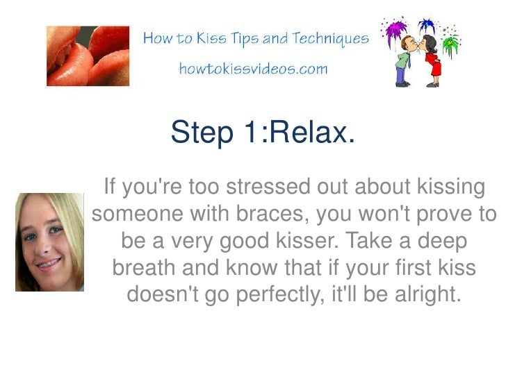 First kiss tips for guys