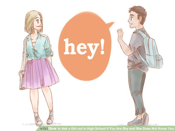 How to approach a girl if your shy