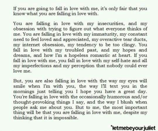 How to know if your falling in love