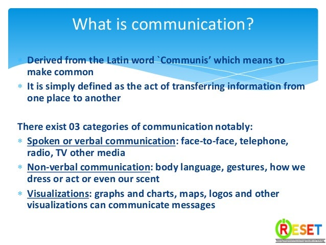 Another word for communicate