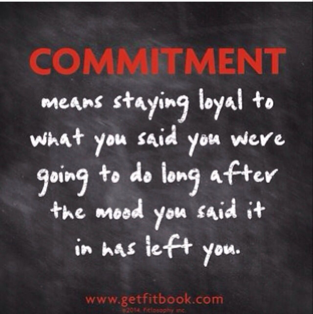Are you afraid of commitment