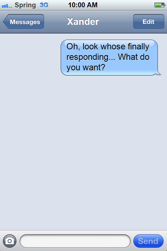 What to say to your ex after a long time