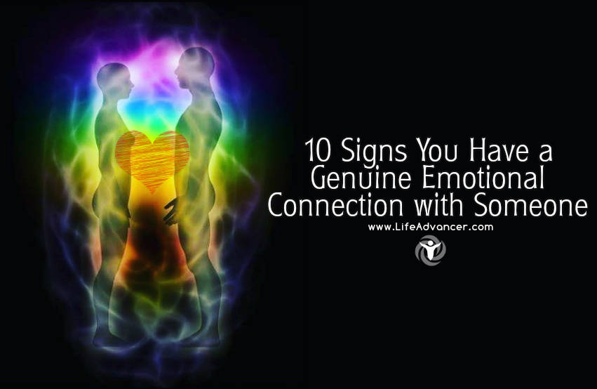 Signs of deep emotional connection