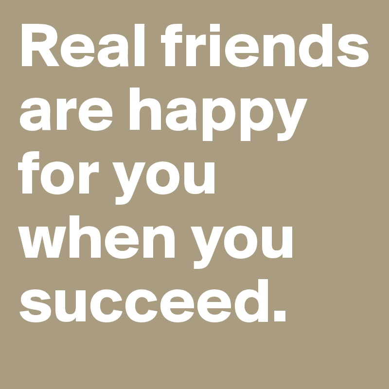 Be happy for others