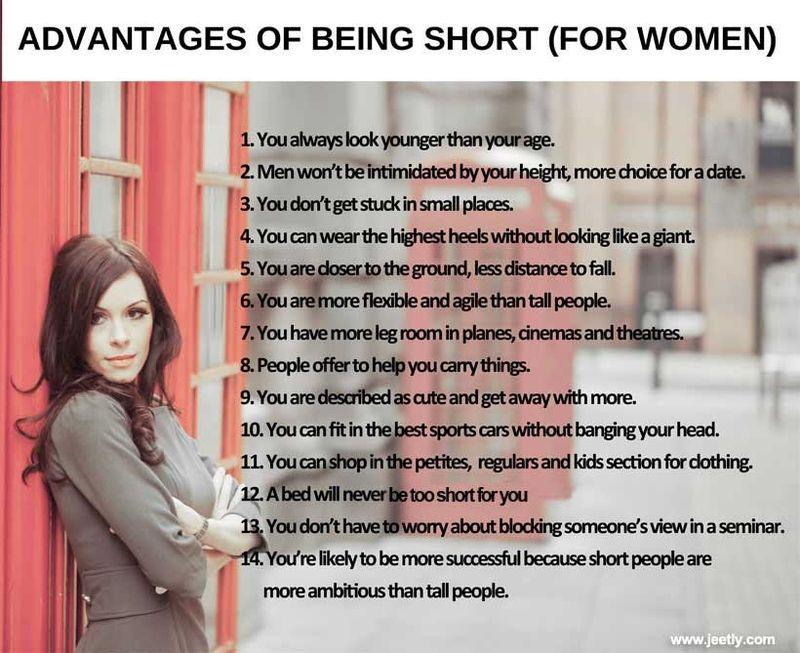 Benefits of dating a short girl