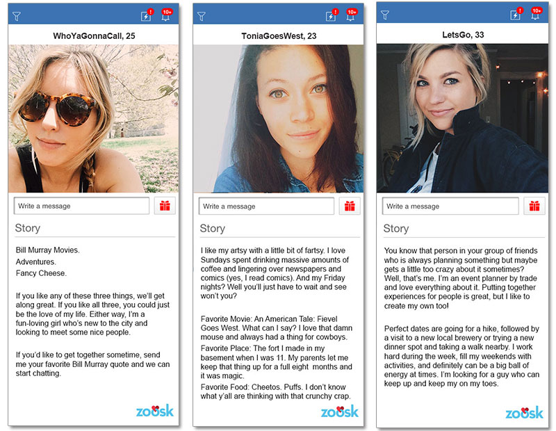 Best dating profile examples