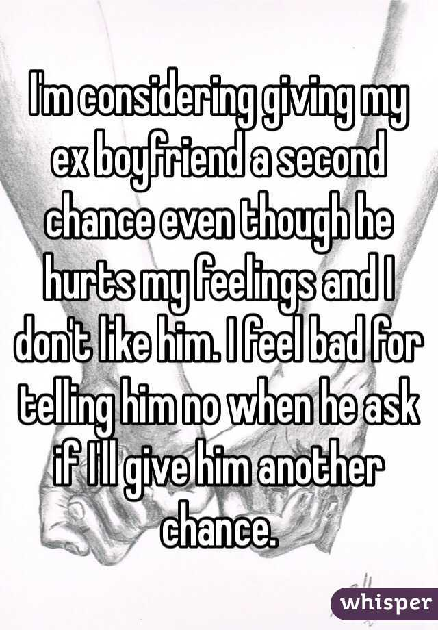 How to get a second chance with your ex boyfriend