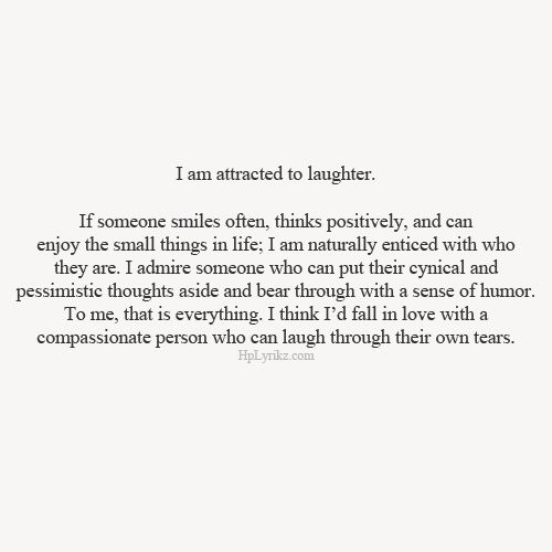 I am attracted to you