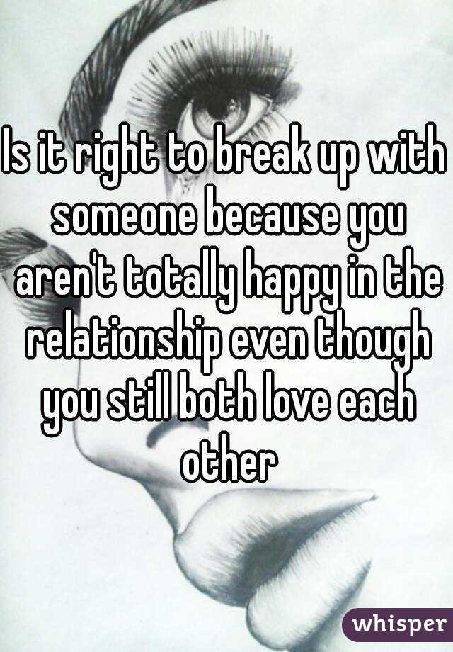 How to get over breaking up with someone you love