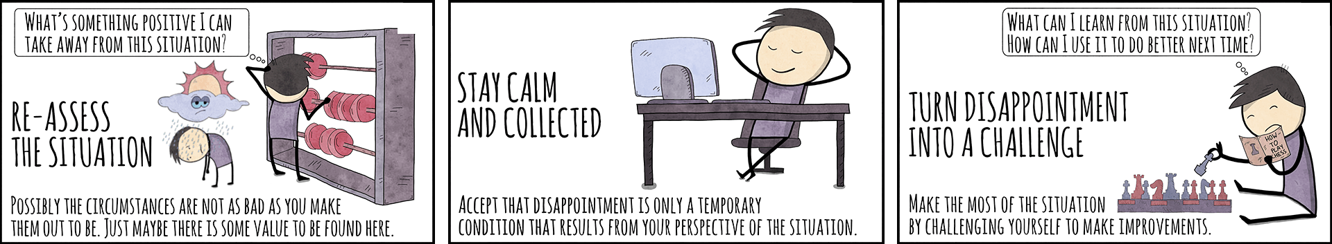 How to get over disappointment