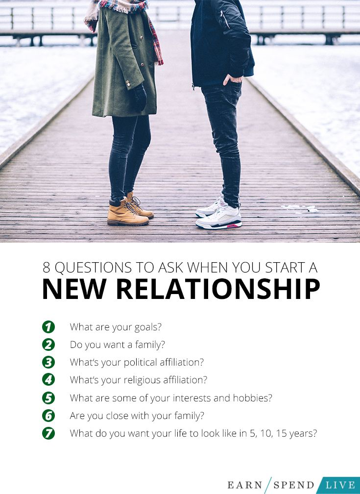Tips on a new relationship