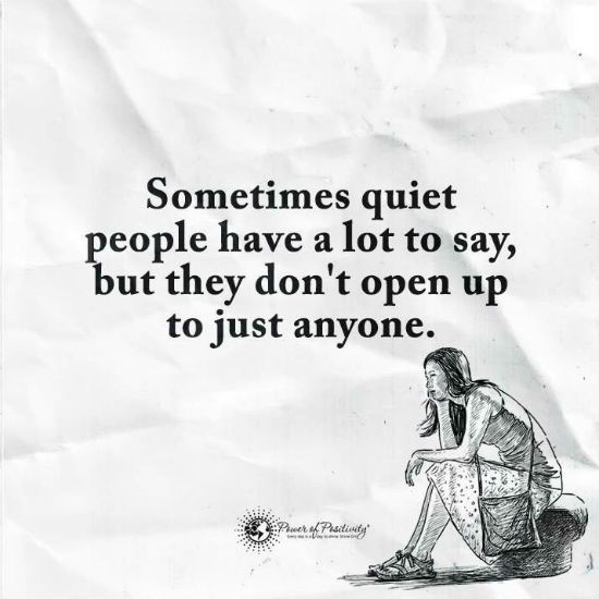 How to open up to people