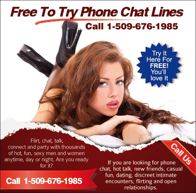 Chat line free trial numbers for singles