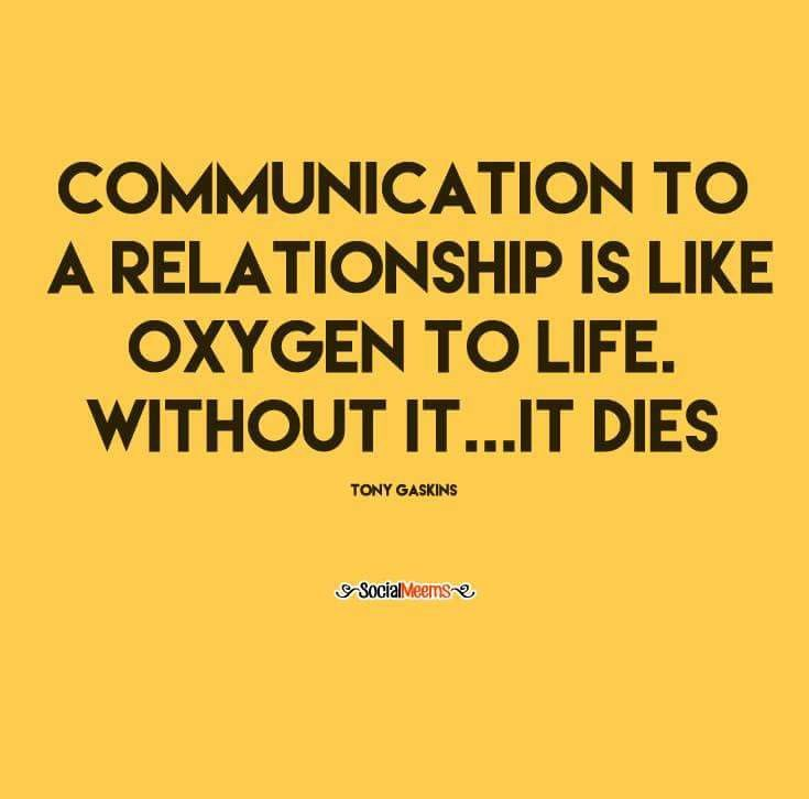 Communication during a relationship break