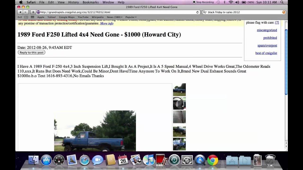 Craigslist michigan city indiana