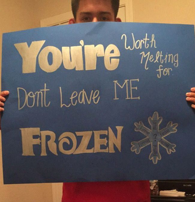 Cute way to ask a guy out