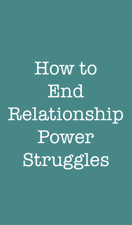 How to end a long relationship