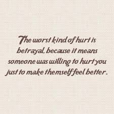 How to get over being betrayed