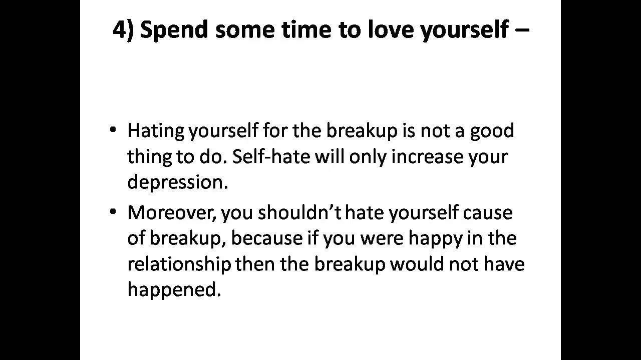 How to get over a relationship quickly