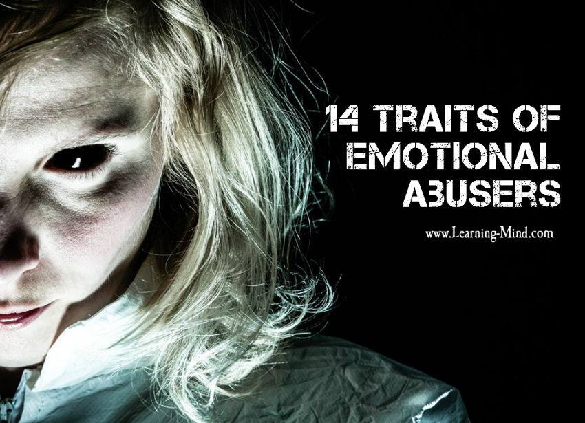Traits of emotional abusers