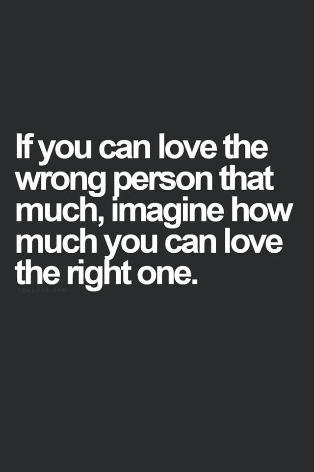 I love the wrong person