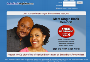 Senior black people com
