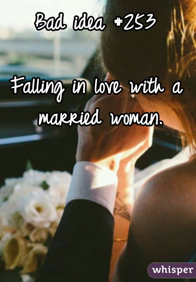 Can man fall in love with married woman