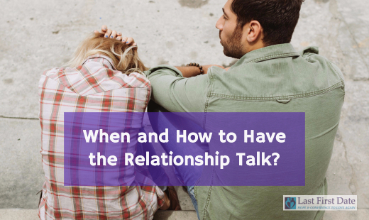 When to have the talk relationship