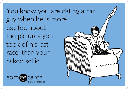 Dating a car guy