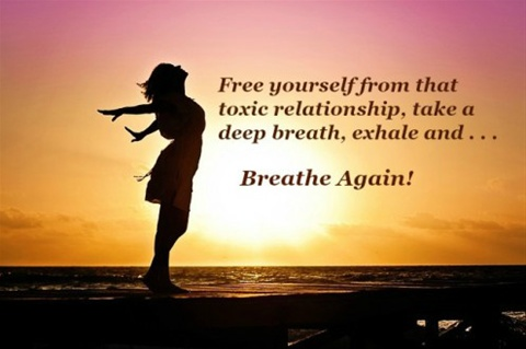 How to get over a toxic relationship