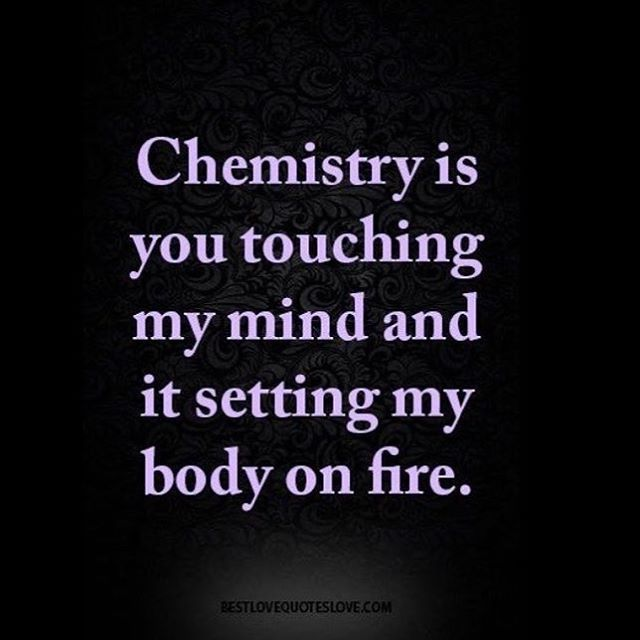 Chemistry in relationship what does it mean