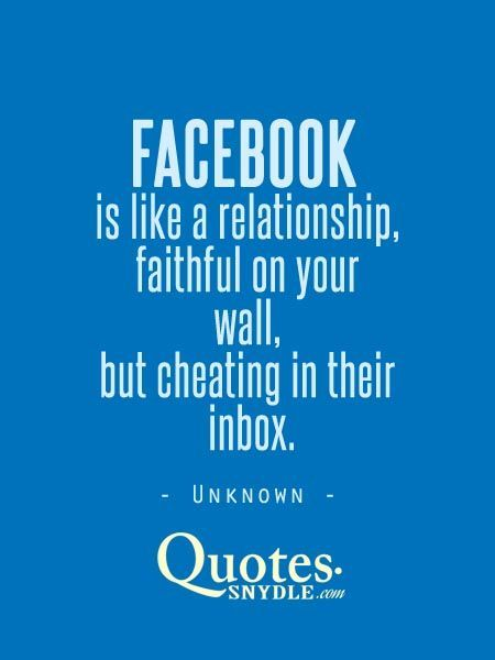 Social media cheating quotes