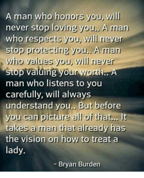 How to stop loving a man