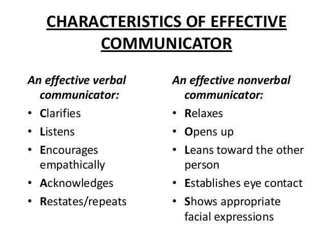 Effective communication in relationships
