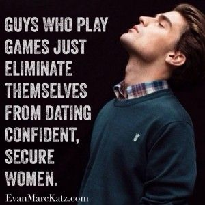 Why do guys play games when dating