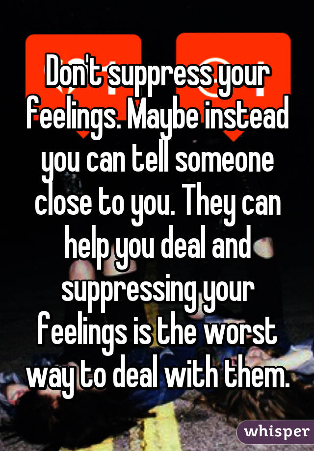 How to tell someone your feelings