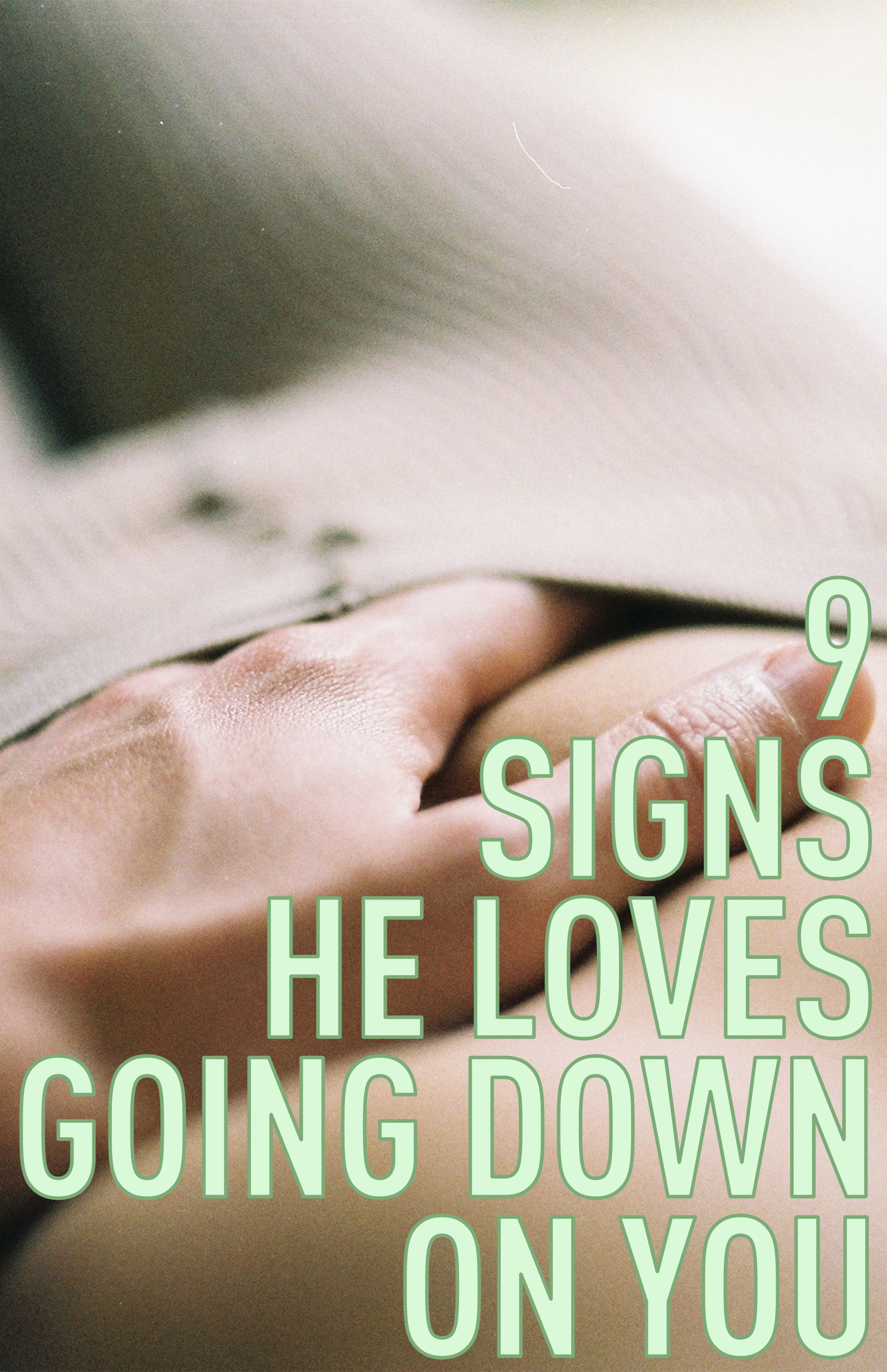 Signs he is obsessed with you