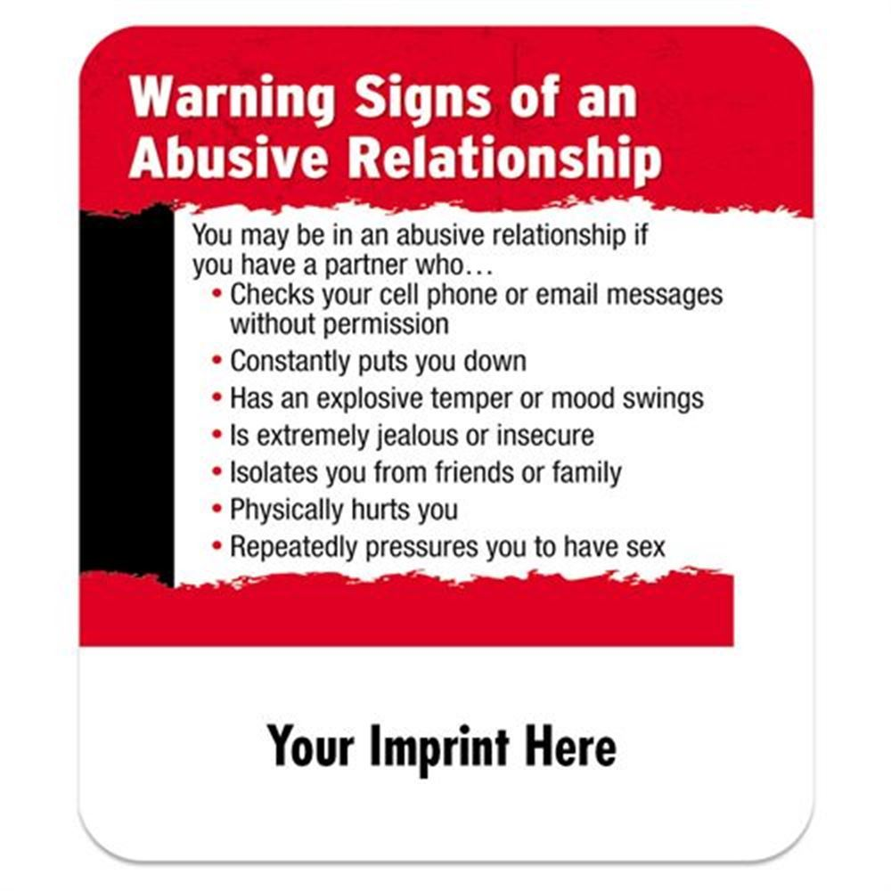 Signs of a abusive relationship