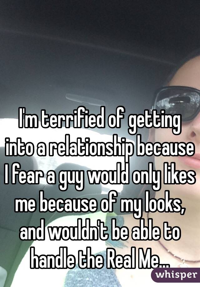Fear of getting into a relationship