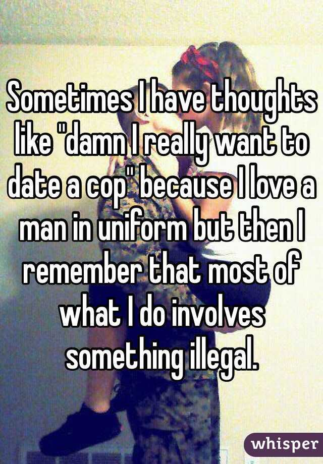 How to date a cop