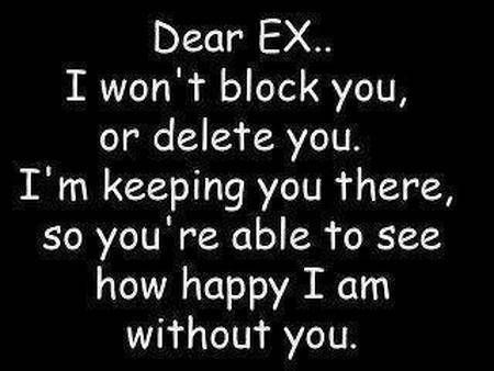 How to be happy for your ex boyfriend
