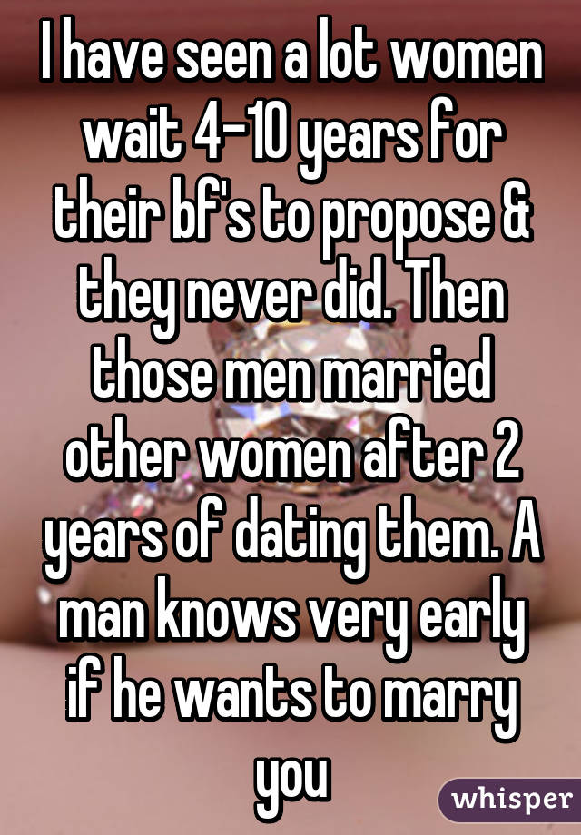 How to tell if he wants to marry you