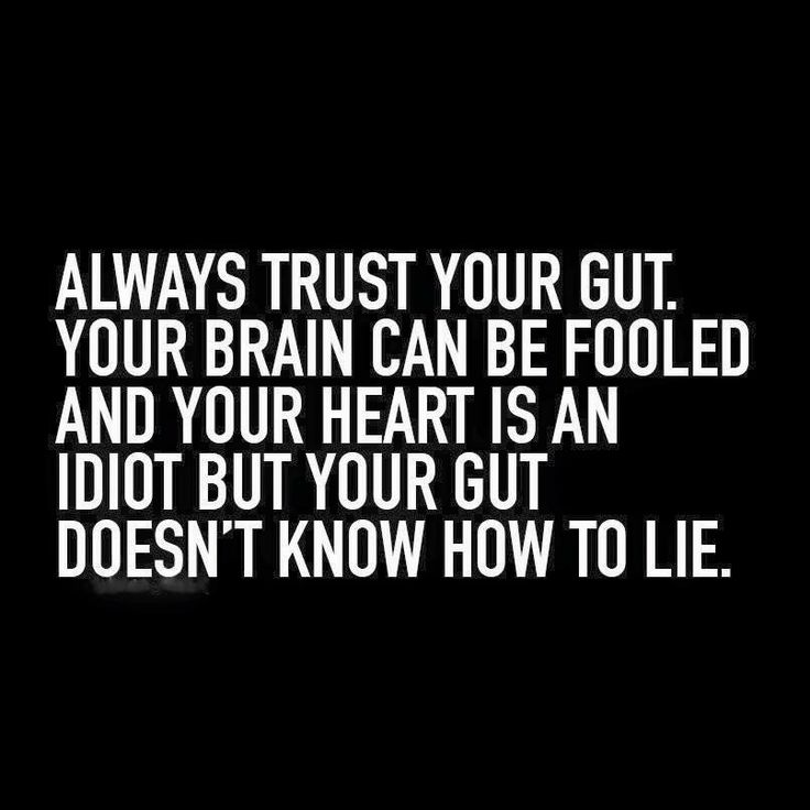 How to trust your gut feeling