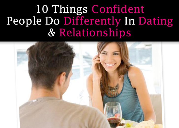 How to be confident in a relationship